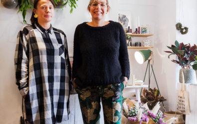 Portrait de Julie et Nathalie de Murmur à Annecy.