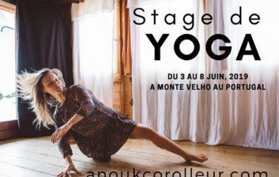 Stage de Yoga au Portugal